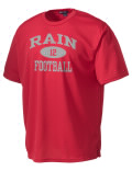 Play like a pro in this B.C. Rain High School t-shirt made with Dri-Mesh moisture management fabric. The double-layer poly-mesh wicks and releases perspiration to keep you comfortable and presentable in even the most active circumstances.