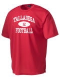Play like a pro in this Talladega High School t-shirt made with Dri-Mesh moisture management fabric. The double-layer poly-mesh wicks and releases perspiration to keep you comfortable and presentable in even the most active circumstances.