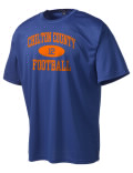 Play like a pro in this Chilton County High School t-shirt made with Dri-Mesh moisture management fabric. The double-layer poly-mesh wicks and releases perspiration to keep you comfortable and presentable in even the most active circumstances.