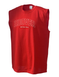 The perfect in-between custom Hoover High School Cardinals sleeveless crewneck T-Shirt.  The Hoover High School Cardinals sleeveless tee is preshrunk with double-needle stitching on neck, and hemmed armholes.  Ash color is 99% cotton, 1% polyester.  Sport Grey is 90% cotton, 10% polyester.