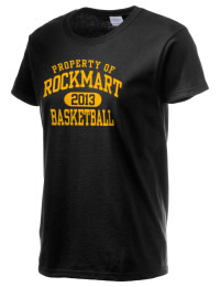 Ultra cotton comfort for the softest feel against your skin. The Rockmart High School Yellow Jackets crewneck T-shirt features a seamless collar for added comfort.
