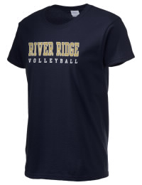 Ultra cotton comfort for the softest feel against your skin. The River Ridge High School Knights crewneck T-shirt features a seamless collar for added comfort.