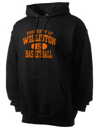 Crafted for comfort, this lighter weight Williston High School Coyotes hooded sweatshirt is perfect for relaxing and it's a real value for a sportswear hoody. A must have for the serious Williston High School Coyotes apparel and merchandise collection. 50/50 cotton/poly fleece hoodie with two-ply hood, dyed-to-match drawcord, set-in sleeves, and front pouch pocket round out the features of a Coyotes hooded sweatshirt.