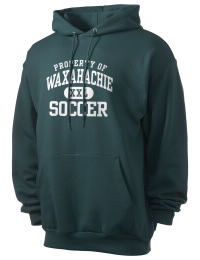 Crafted for comfort, this lighter weight Waxahachie High School Indians hooded sweatshirt is perfect for relaxing and it's a real value for a sportswear hoody. A must have for the serious Waxahachie High School Indians apparel and merchandise collection. 50/50 cotton/poly fleece hoodie with two-ply hood, dyed-to-match drawcord, set-in sleeves, and front pouch pocket round out the features of a Indians hooded sweatshirt.