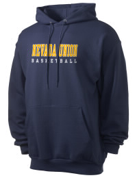 Crafted for comfort, this lighter weight Nevada Union High School Miners hooded sweatshirt is perfect for relaxing and it's a real value for a sportswear hoody. A must have for the serious Nevada Union High School Miners apparel and merchandise collection. 50/50 cotton/poly fleece hoodie with two-ply hood, dyed-to-match drawcord, set-in sleeves, and front pouch pocket round out the features of a Miners hooded sweatshirt.