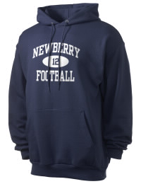 Crafted for comfort, this lighter weight Newberry High School Bulldogs hooded sweatshirt is perfect for relaxing and it's a real value for a sportswear hoody. A must have for the serious Newberry High School Bulldogs apparel and merchandise collection. 50/50 cotton/poly fleece hoodie with two-ply hood, dyed-to-match drawcord, set-in sleeves, and front pouch pocket round out the features of a Bulldogs hooded sweatshirt.