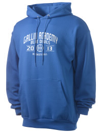 Crafted for comfort, this lighter weight Gallia Academy High School Blue Devils hooded sweatshirt is perfect for relaxing and it's a real value for a sportswear hoody. A must have for the serious Gallia Academy High School Blue Devils apparel and merchandise collection. 50/50 cotton/poly fleece hoodie with two-ply hood, dyed-to-match drawcord, set-in sleeves, and front pouch pocket round out the features of a Blue Devils hooded sweatshirt.