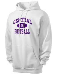 Crafted for comfort, this lighter weight Omaha Central High School Eagles hooded sweatshirt is perfect for relaxing and it's a real value for a sportswear hoody. A must have for the serious Omaha Central High School Eagles apparel and merchandise collection. 50/50 cotton/poly fleece hoodie with two-ply hood, dyed-to-match drawcord, set-in sleeves, and front pouch pocket round out the features of a Eagles hooded sweatshirt.