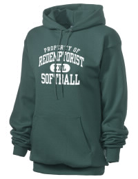Crafted for comfort, this lighter weight Redemptorist High School Wolves hooded sweatshirt is perfect for relaxing and it's a real value for a sportswear hoody. A must have for the serious Redemptorist High School Wolves apparel and merchandise collection. 50/50 cotton/poly fleece hoodie with two-ply hood, dyed-to-match drawcord, set-in sleeves, and front pouch pocket round out the features of a Wolves hooded sweatshirt.