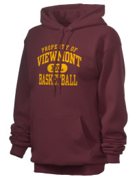 Crafted for comfort, this lighter weight Viewmont High School Vikings hooded sweatshirt is perfect for relaxing and it's a real value for a sportswear hoody. A must have for the serious Viewmont High School Vikings apparel and merchandise collection. 50/50 cotton/poly fleece hoodie with two-ply hood, dyed-to-match drawcord, set-in sleeves, and front pouch pocket round out the features of a Vikings hooded sweatshirt.