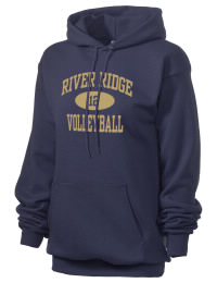 Crafted for comfort, this lighter weight River Ridge High School Knights hooded sweatshirt is perfect for relaxing and it's a real value for a sportswear hoody. A must have for the serious River Ridge High School Knights apparel and merchandise collection. 50/50 cotton/poly fleece hoodie with two-ply hood, dyed-to-match drawcord, set-in sleeves, and front pouch pocket round out the features of a Knights hooded sweatshirt.