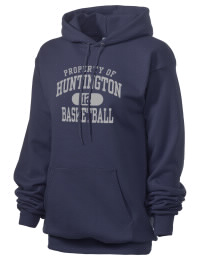 Crafted for comfort, this lighter weight Huntington High School Raiders hooded sweatshirt is perfect for relaxing and it's a real value for a sportswear hoody. A must have for the serious Huntington High School Raiders apparel and merchandise collection. 50/50 cotton/poly fleece hoodie with two-ply hood, dyed-to-match drawcord, set-in sleeves, and front pouch pocket round out the features of a Raiders hooded sweatshirt.