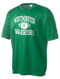 Take on your opponents in maximum comfort in this performance t-shirt. The Westminster Christian School Warriors Competitor crewneck T-Shirt is lightweight and offers a roomy, athletic look and helps control moisture.