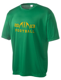 Take on your opponents in maximum comfort in this performance t-shirt. The East Chambers High Buccaneers Competitor crewneck T-Shirt is lightweight and offers a roomy, athletic look and helps control moisture.