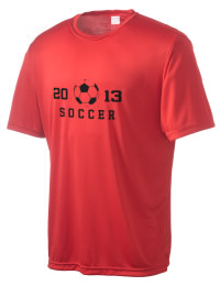 Take on your opponents in maximum comfort in this performance t-shirt. The Stevens Point High School Panthers Competitor crewneck T-Shirt is lightweight and offers a roomy, athletic look and helps control moisture.