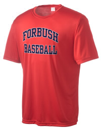 Take on your opponents in maximum comfort in this performance t-shirt. The Forbush High School Falcons Competitor crewneck T-Shirt is lightweight and offers a roomy, athletic look and helps control moisture.