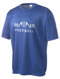 Take on your opponents in maximum comfort in this performance t-shirt. The Brewer High School Bears Competitor crewneck T-Shirt is lightweight and offers a roomy, athletic look and helps control moisture.