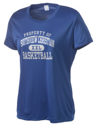 Take on your opponents in maximum comfort. The Southview Christian School Conquerors Competitor T-Shirt is lightweight and offers a roomy, athletic look and helps control moisture.
