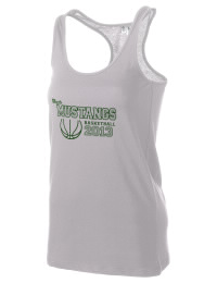 The Eagle High School Mustangs District Threads Racerback Tank is semi-fitted for a flattering look and perfect for layering. Racerback detail lends casual, athletic style.
