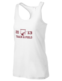 The Simi Valley High School Pioneers District Threads Racerback Tank is semi-fitted for a flattering look and perfect for layering. Racerback detail lends casual, athletic style.