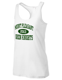 The Mount Pleasant High School Green Knights District Threads Racerback Tank is semi-fitted for a flattering look and perfect for layering. Racerback detail lends casual, athletic style.