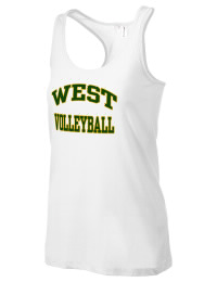 The West High School Trojans District Threads Racerback Tank is semi-fitted for a flattering look and perfect for layering. Racerback detail lends casual, athletic style.