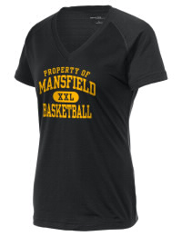 The Ladies Ultimate Performance V-Neck Mansfield High School Tigers tee is perfect for your active lifestyle.  The V-neck performance t-shirt is made with moisture wicking fabric and has a soft, cotton-like feel. This layerable Mansfield High School Tigers V-neck tee is sure to become a favorite on and off the court.