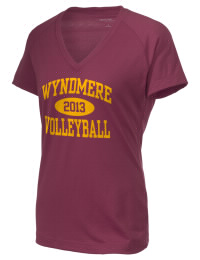The Ladies Ultimate Performance V-Neck Wyndmere School Warriors tee is perfect for your active lifestyle.  The V-neck performance t-shirt is made with moisture wicking fabric and has a soft, cotton-like feel. This layerable Wyndmere School Warriors V-neck tee is sure to become a favorite on and off the court.