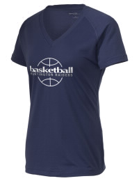 The Ladies Ultimate Performance V-Neck Huntington High School Raiders tee is perfect for your active lifestyle.  The V-neck performance t-shirt is made with moisture wicking fabric and has a soft, cotton-like feel. This layerable Huntington High School Raiders V-neck tee is sure to become a favorite on and off the court.