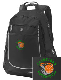 A go-anywhere Fairfield High School Knights backpack design in a streamlined size that's engineered to hold all the essentials in place. Convenient dual-side mesh water bottle pockets, and front pocket with organizer panel. Great for Fairfield High School Knights fan gear.