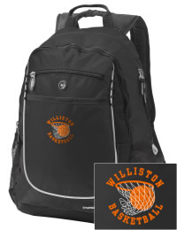 A go-anywhere Williston High School Coyotes backpack design in a streamlined size that's engineered to hold all the essentials in place. Convenient dual-side mesh water bottle pockets, and front pocket with organizer panel. Great for Williston High School Coyotes fan gear.