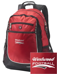 A go-anywhere Westwood High School Cardinals backpack design in a streamlined size that's engineered to hold all the essentials in place. Convenient dual-side mesh water bottle pockets, and front pocket with organizer panel. Great for Westwood High School Cardinals fan gear.