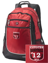 A go-anywhere Tatum High School Coyotes backpack design in a streamlined size that's engineered to hold all the essentials in place. Convenient dual-side mesh water bottle pockets, and front pocket with organizer panel. Great for Tatum High School Coyotes fan gear.