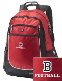 A go-anywhere Burlingame High School Panthers backpack design in a streamlined size that's engineered to hold all the essentials in place. Convenient dual-side mesh water bottle pockets, and front pocket with organizer panel. Great for Burlingame High School Panthers fan gear.