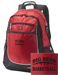 A go-anywhere Bellaire Middle School Big Reds backpack design in a streamlined size that's engineered to hold all the essentials in place. Convenient dual-side mesh water bottle pockets, and front pocket with organizer panel. Great for Bellaire Middle School Big Reds fan gear.
