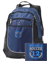 A go-anywhere West Morris Central High School Wolfpack backpack design in a streamlined size that's engineered to hold all the essentials in place. Convenient dual-side mesh water bottle pockets, and front pocket with organizer panel. Great for West Morris Central High School Wolfpack fan gear.