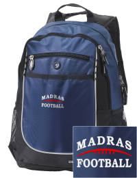 A go-anywhere Madras High School White Buffaloes backpack design in a streamlined size that's engineered to hold all the essentials in place. Convenient dual-side mesh water bottle pockets, and front pocket with organizer panel. Great for Madras High School White Buffaloes fan gear.