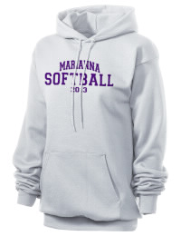 Crafted for comfort, this lighter weight embroidered Marianna High School Bulldogs hooded sweatshirt is perfect for relaxing.  A must have hoody for the serious Marianna High School Bulldogs apparel and merchandise collection. 50/50 cotton/poly fleece hoodie with two-ply hood, dyed-to-match drawcord, set-in sleeves, and front pouch pocket round out the features of a Bulldogs hooded sweatshirt.