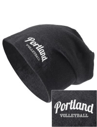 On the street or on the slopes, stay warm and look cool in this Portland High School Panthers knit hat. An acyrlic/polyester blend beanie with a snug yet slouchy fit. Embroidery will not be on center front, but off centered to the left.