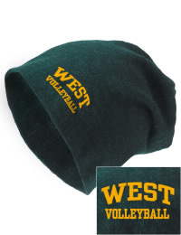 On the street or on the slopes, stay warm and look cool in this West High School Trojans knit hat. An acyrlic/polyester blend beanie with a snug yet slouchy fit. Embroidery will not be on center front, but off centered to the left.