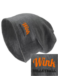 On the street or on the slopes, stay warm and look cool in this Wink High School Wildcats knit hat. An acyrlic/polyester blend beanie with a snug yet slouchy fit. Embroidery will not be on center front, but off centered to the left.