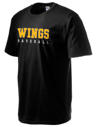 This custom Wings Academy Wings  crewneck t-shirt with a seamless collar turns a classic into an ultra comfortable apparel choice. Customize this t-shirt with your favorite Wings  design and personalize with your Wings Academy Wings  year. Choose your custom design for your tee and wear this customized t-shirt proudly.