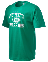 This custom Westminster Christian School Warriors crewneck t-shirt with a seamless collar turns a classic into an ultra comfortable apparel choice. Customize this t-shirt with your favorite Warriors design and personalize with your Westminster Christian School Warriors year. Choose your custom design for your tee and wear this customized t-shirt proudly.