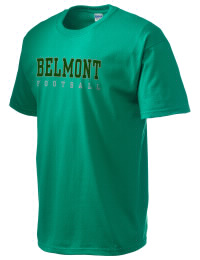 This custom Belmont High School Sentinels crewneck t-shirt with a seamless collar turns a classic into an ultra comfortable apparel choice. Customize this t-shirt with your favorite Sentinels design and personalize with your Belmont High School Sentinels year. Choose your custom design for your tee and wear this customized t-shirt proudly.