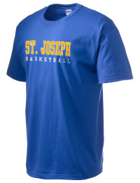 This custom Saint Joseph High School Lancers crewneck t-shirt with a seamless collar turns a classic into an ultra comfortable apparel choice. Customize this t-shirt with your favorite Lancers design and personalize with your Saint Joseph High School Lancers year. Choose your custom design for your tee and wear this customized t-shirt proudly.