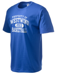 This custom Westwind Academy Warriors crewneck t-shirt with a seamless collar turns a classic into an ultra comfortable apparel choice. Customize this t-shirt with your favorite Warriors design and personalize with your Westwind Academy Warriors year. Choose your custom design for your tee and wear this customized t-shirt proudly.