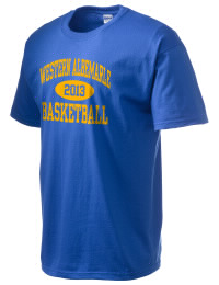 This custom Western Albemarle High School Warriors crewneck t-shirt with a seamless collar turns a classic into an ultra comfortable apparel choice. Customize this t-shirt with your favorite Warriors design and personalize with your Western Albemarle High School Warriors year. Choose your custom design for your tee and wear this customized t-shirt proudly.